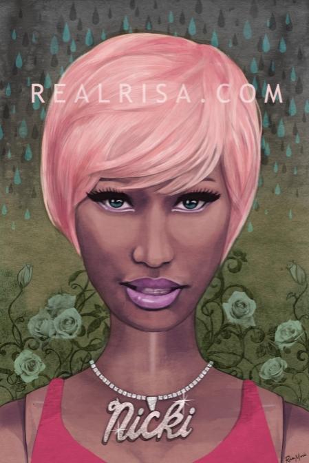 Nicki Minaj by Risamarie